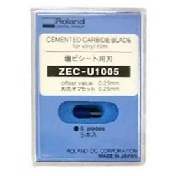 ZEC-U1005 - Lâmina de corte 5 unid uso geral 45° Roland Original
