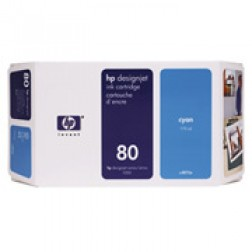 C4846A - Cartucho HP 80 Cyan 350ml
