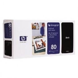 C4820A - Cabeça Impressão Black HP80 p/ 1000series