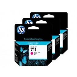 CZ135A Pack com 3unids HP 711 Magenta  29ml cada